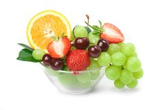 Still-life of fresh fruit Royalty Free Stock Photo