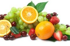 Still-life of fresh fruit Royalty Free Stock Photos