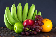 fresh fruit still life  Stock Photos
