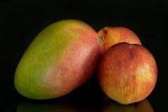 Still life of fresh fruit royalty free stock photos