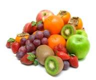 Still life. fresh fruit on a white background. Stock Photo