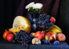 Still life with fresh fruits Royalty Free Stock Image