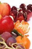 Still life of fresh fruits Stock Photos