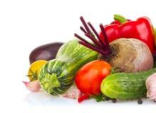 Still life of fresh juicy vegetable Stock Image