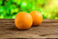 Still Life Fresh Orange Fruit on Vintage grunge Wooden Table Royalty Free Stock Image