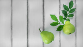 Still life fresh pears Royalty Free Stock Photography