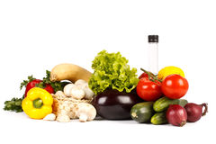 Still-life with fresh vegetables Stock Photo