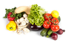 Still-life with fresh vegetables Stock Photography