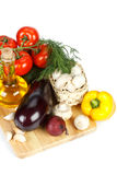 Still-life with fresh vegetables Royalty Free Stock Photos