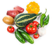 Still life of fresh vegetables healthy eating Royalty Free Stock Photo