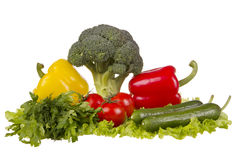 Still life with fresh vegetables Royalty Free Stock Photo