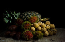 Still life fruit Stock Images
