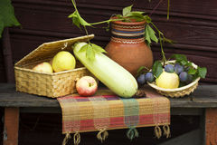 Still life with fruit. Royalty Free Stock Photos