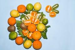 Still Life with Fruit Dish Royalty Free Stock Photos