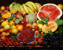 Still life with fruit. Still life with various types of fruit Royalty Free Stock Photography