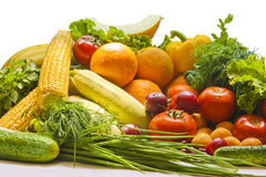 Still Life Fruit and vegetables Royalty Free Stock Photography