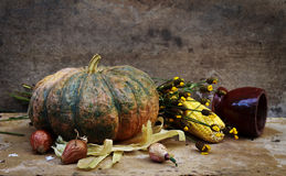 Still life with fruit and vegetables Stock Photography