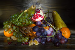 Still life with fruit Stock Photography