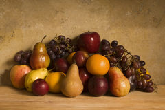 Still Life of Fruits Stock Photos