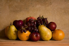 Still Life of Fruits Royalty Free Stock Photos