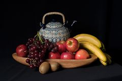 Still life with fruits Stock Photography