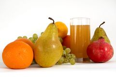 Still-life of fruits Stock Images