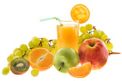 Still-life with fruits Stock Images