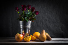 Still life fruits Stock Images