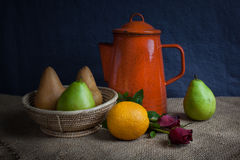 Still life fruits Royalty Free Stock Images