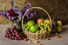 Still life with Fruits. royalty free stock photo