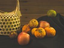Still life fruits Stock Photos