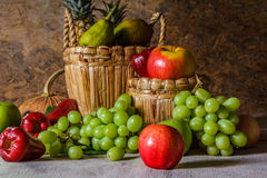 Still life with Fruits. Stock Photos