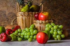 Still life with Fruits. Stock Photos