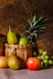 Still life with Fruits. Royalty Free Stock Image
