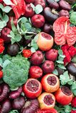 Still life of fruits and vegetables. Royalty Free Stock Images