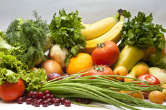 Still Life Fruits and vegetables Royalty Free Stock Image