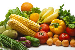 Still Life Fruits and vegetables Royalty Free Stock Images