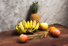 Still life with Fruits Stock Photos