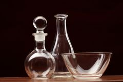 Still-life glass Stock Images