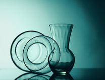 Still life glass. Royalty Free Stock Images