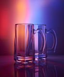 Still life. Glass wineglass of beer Stock Images