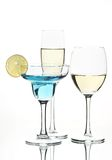 Still life with glasses Royalty Free Stock Photos