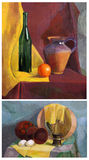 Still life gouache Royalty Free Stock Images