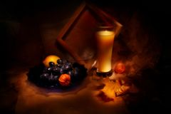 Still life with grape Stock Image