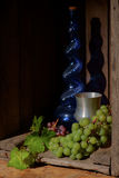 Still life with grapes Stock Photography
