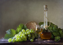 Still Life with Grapes Stock Image