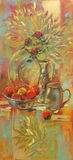 Still life handmade painting Royalty Free Stock Images