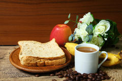 Still life with healthy breakfast Stock Image