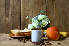 Still life with healthy breakfast Royalty Free Stock Images