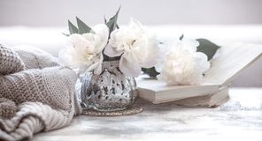 Still life home cosiness stock photography